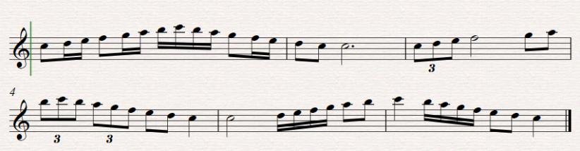 Scales Rhythm